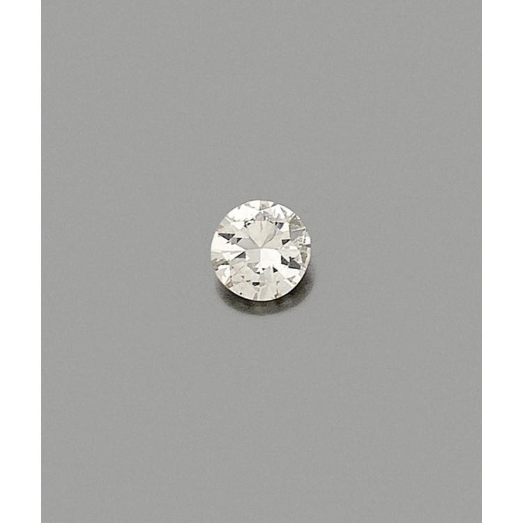 A 2,05 carats diamond.