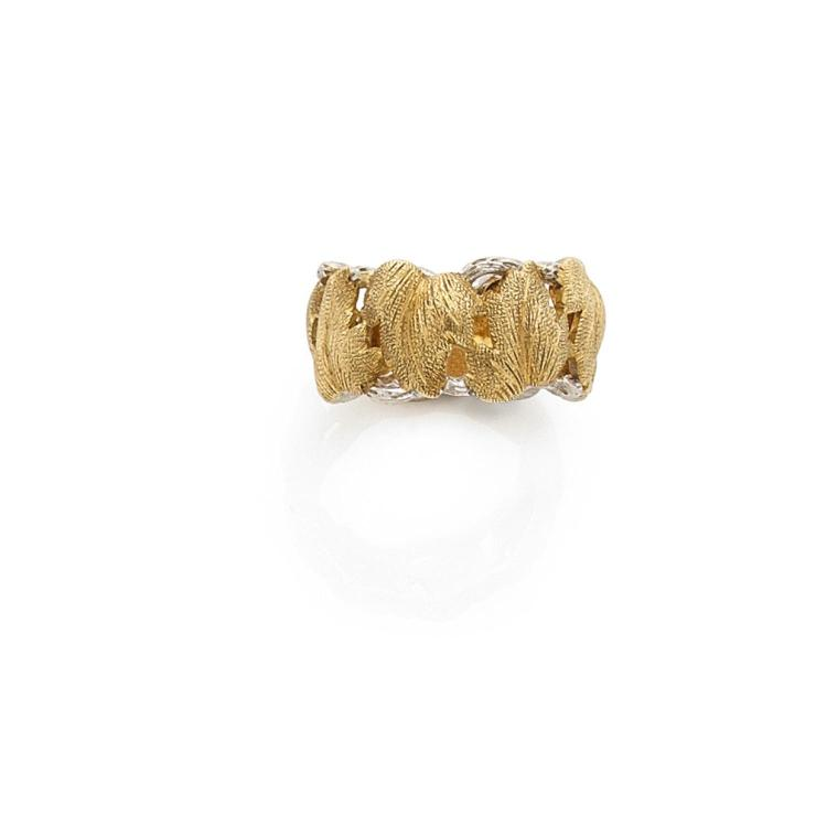 A gold ring by BUCCELLATI.