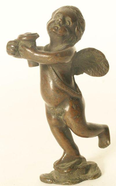Amour en bronze vers 1700