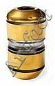 Jean LUCE (1895-1964) Épais vase cylindrique en, Jean Luce, Click for value