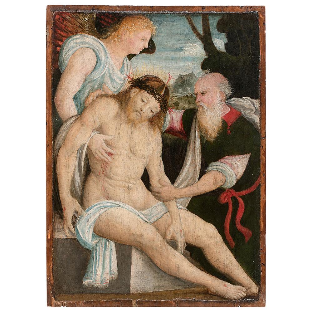 ÉCOLE PIÉMONTAISE VERS 1520, SUIVEUR D'EUSEBIO FERRARI