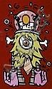 Jace (Né en 1973) Sans titre Peinture aérosol sur toile Signée vers le bas à droite 170 x 100 cm,  JACE, Click for value