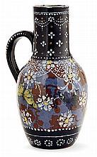 Ernest CHAPLET (1835-1909) HAVILAND & Cie A baluster earthenware jug