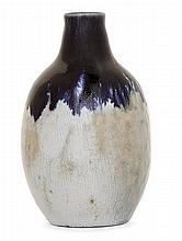 ÉTIENNE MOREAU-NÉLATON (1859-1927) - An enamelled stoneware bottle vase