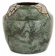 Raoul LACHENAL (1885-1956) An ovoid enamelled stoneware vase
