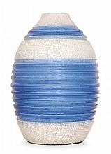 JEAN BESNARD (1889-1958) An ovoid enamelled vase