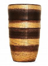 JEAN BESNARD (1889-1958) An enamelled stoneware vase