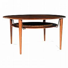 View peter hvidt art prices and auction results - Pietement table basse ...