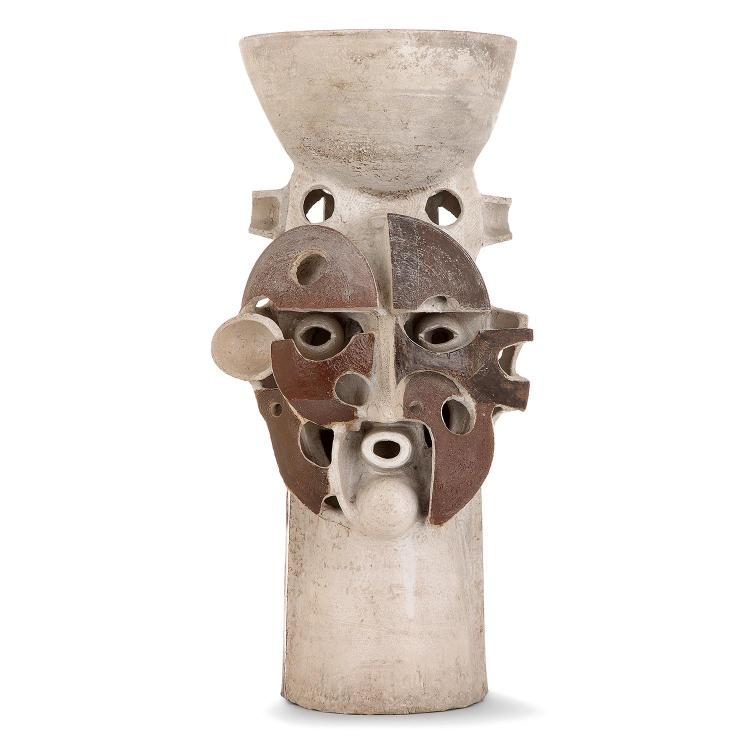 JEAN DERVAL (1925-2010) Importante sculpture