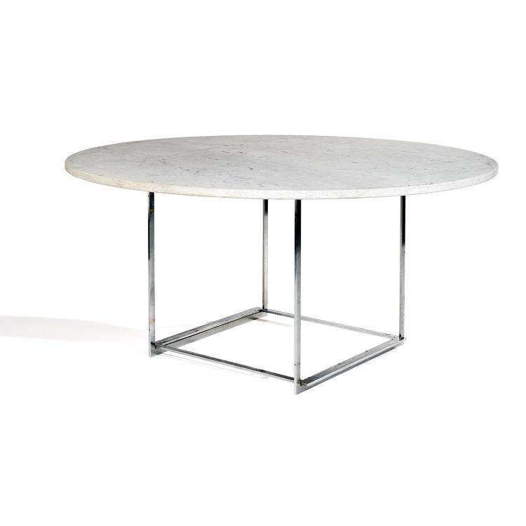 POUL KJÆRHOLM (1929-1980) & KOLD CHRISTENSEN (ÉDITEUR)Table de salle à manger