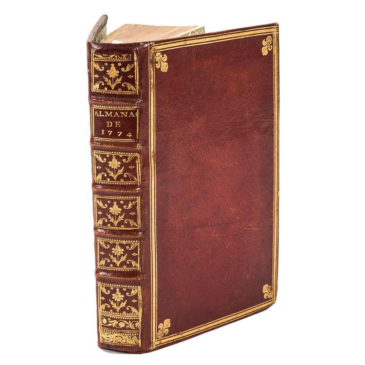 almanach royal ann e 1774 paris le breton 1774 in 8. Black Bedroom Furniture Sets. Home Design Ideas