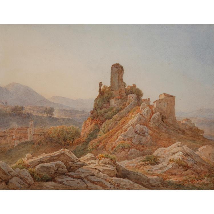 Rudolph MULLER (Bâle 1802-Rome 1885)