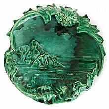CLÉMENT MASSIER (1844-1917) An earthenware vase