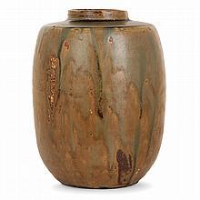 JEAN CARRIÈS (1855-1894) A stoneware vase