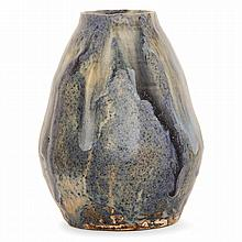 HENRI DE VALLOMBREUSE (1856-1919) A stoneware vase