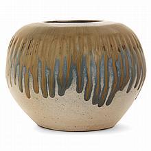PAUL JEANNENEY (1861-1920) A stoneware vase