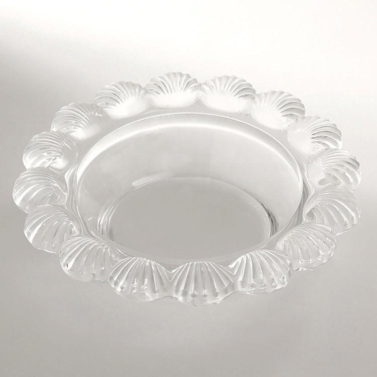 Lalique france coupe coquille en verre translucide marli an for Paroi translucide