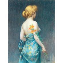 DELPHIN ENJOLRAS (1857-1945)JEUNE FEMME DE DOS