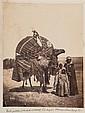 Jean-Baptiste Antoine ALARY(Villeneuve-sur-Lot 1811- après 1889) Cameliers, Atatich, assemblée d'hommes devant Laghouat, ca 1860