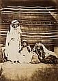 FÉlix-Jacques Moulin (Montreuil sur mer 1802-Paris 1875) Nailat, femmes des Oueds Naïls, 1857. Épreuve albuminée d'après un négatif ...