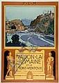 Leo Lelée Vaison la Romaine et le Mont Ventoux, ed. Lucien Serre 108 x 78 cm, BE, Léo Lelée, Click for value