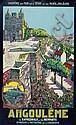 Eugène Vavasseur Chemin de fer de l'État Angoulême 100 x 62 cm, BE, Eugene Vavasseur, Click for value