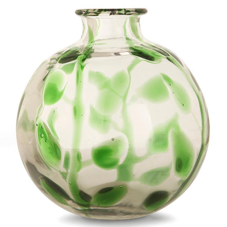 Jean sala 1895 1976 saint louis vase sph rique en verre for Decoration vase en verre