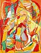 André Lanskoy (1902-1976)  Nuage insolent, 1960 Huile sur toile Signée en bas à droite Titrée et datée au dos Oil on canvas Signed l...