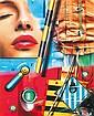 Peter Klasen (né en 1935)  Dream in the truck, 2012 Jet d'encre sur toile Signé, titré et daté au dos Inkjet print on canvas Signed,...