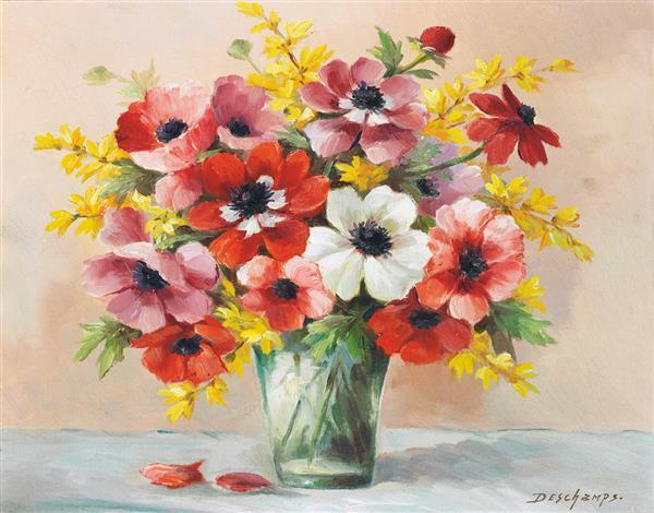 deschamps xxe bouquet de fleurs bouquet de fleurs. Black Bedroom Furniture Sets. Home Design Ideas