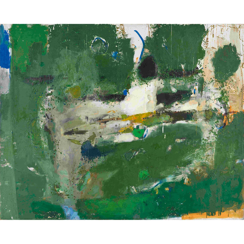 ƒ PAUL REBEYROLLE (1926-2005) La Grande Truite, 1962 Huile sur toile Signée et datée en bas à droite Oil on canvas; signed a...