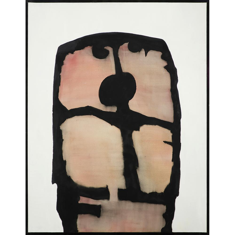 PIERRE DMITRIENKO (1925-1974) Martyr, 1969 Huile sur toile Signée au dos Oil on canvas; signed on the reverse 146 x 114 cm...
