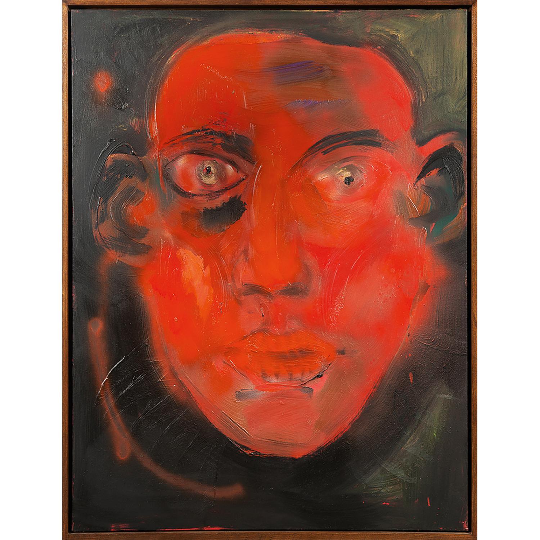 RAINER FETTING (né en 1949) Red Head, 1985 Huile sur toile Signée, titrée et datée au dos Oil on canvas; signed, titled and...