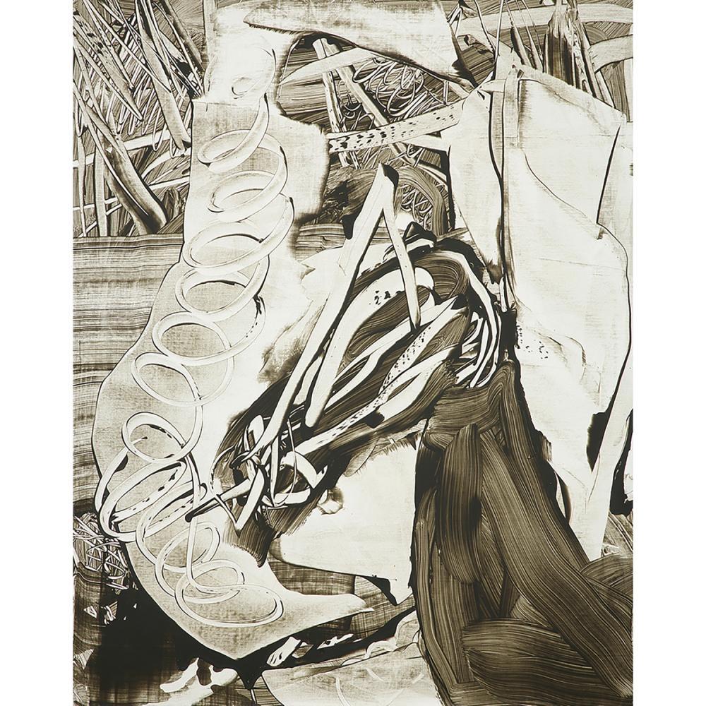 ANDREAS ERIKSSON (né en 1975) Sans titre, 2001 Acrylique sur toile Signée, titrée et datée au dos Acrylic on canvas; signed,...