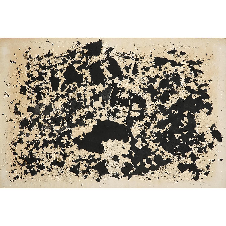 HENRI MICHAUX (1899-1984) Sans titre, 1978 Encre de Chine sur papier Monogrammé en bas à gauche India ink on paper; signed w...