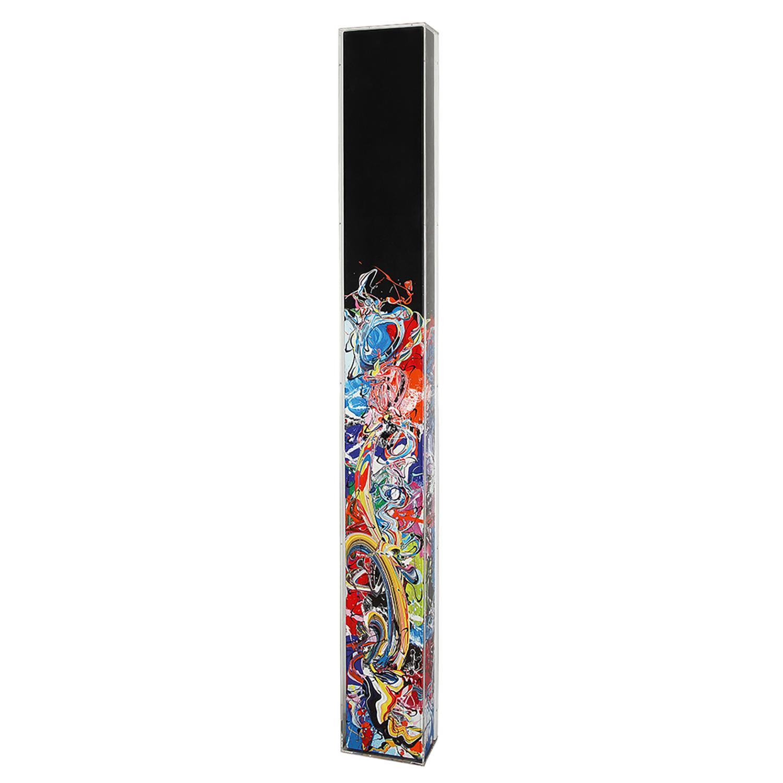 KATRIN FRIDRIKS (née en 1974) Crayons, 2012-2013 Acrylique sur toile Signée, titrée et datée au dos Acrylic on canvas; signe...