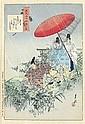 OGATA Gekko (1859-1920). Album accordéon, Gekkō Ogata, Click for value