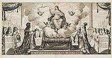 ABRAHAM BOSSE LES VŒUX DU ROY ET DE LA REYNE À LA VIERGE