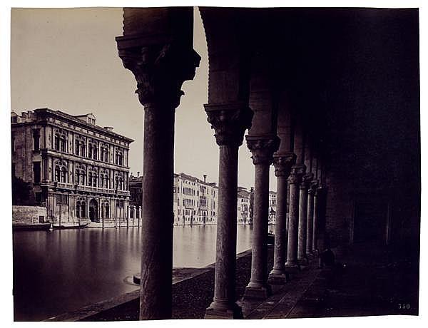 Carlo Naya (1816-1882) Venise, vers 1865-70 Album contenant 20 épreuves albuminées, négatif verre au collodion, numérotées dans le n...