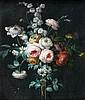 Attribué à Jean-Louis Prevost le Jeune (Vers 1760 - après 1810) BOUQUET DE FLEURS Sur sa toile et son châssis d'origine 46 X 39 CM R..., Jean Louis Prévost, Click for value