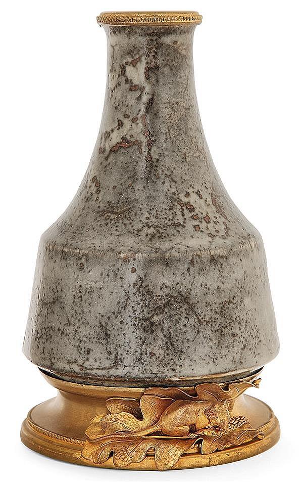 Fernand RUMÈBE (1875-1952) A porcelain stoneware vase