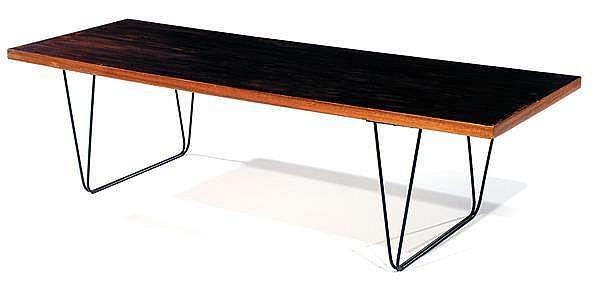pierre paulin 1927 2009 thonet diteur table basse cm. Black Bedroom Furniture Sets. Home Design Ideas
