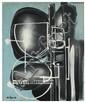 Ladislas Pierre Kijno (né en 1921) Sans titre, 1975 Acrylique et glycérospray sur toile  Signé en bas à gauche Contresigné et daté a...