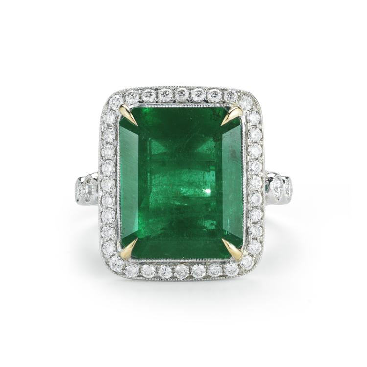 takat emerald and ring