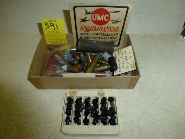 ANTIQUE AMMO AND BLACK POWDER PARTS