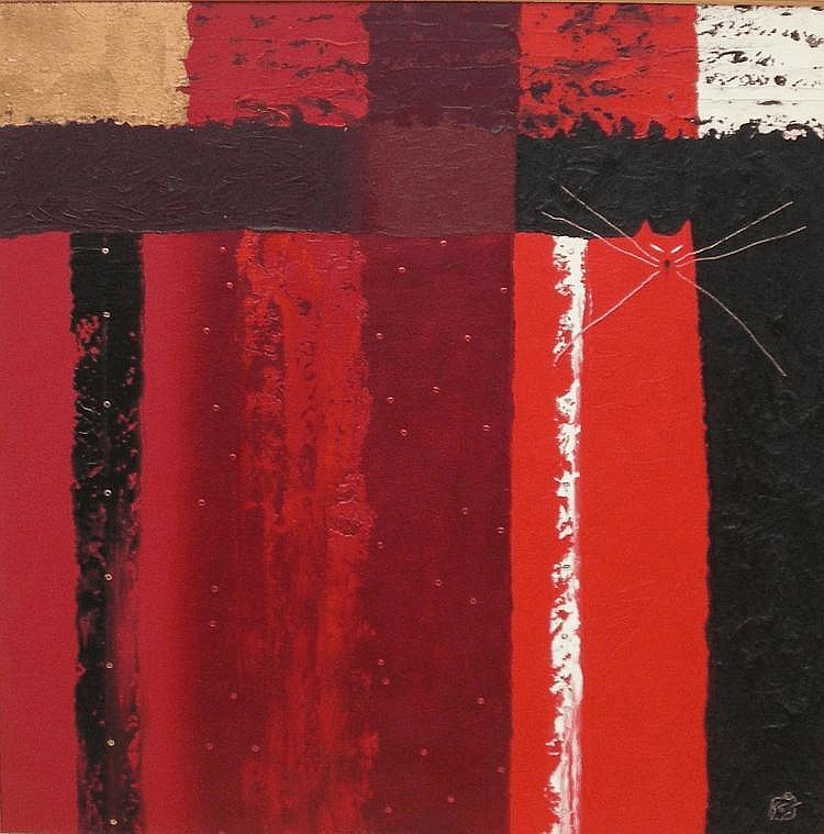 Govinder Nazran (1964-2008, British) oil on canvas