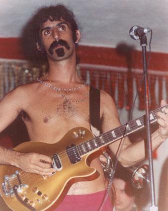 Frank Zappa's customised 1952/53 Gibson Les Paul Goldtop Guitar