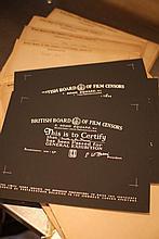 Disney Miscellaneous 2. 28 BBFC Certificates
