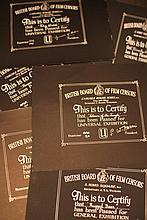 Disney Animal Related 8 x BBFC Certificates