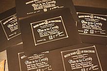 Disney Mickey Mouse 5 x BBFC Certificates